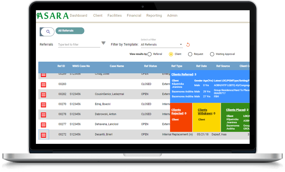Referral & Intake Tracking Software for Social Service Agencies